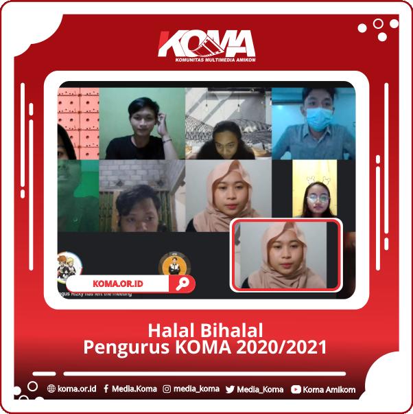 Halal Bihalal Pengurus KOMA 2020/2021