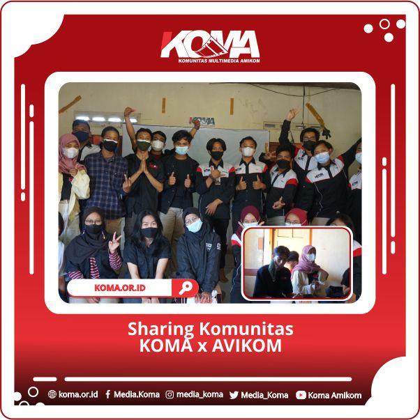 Sharing Komunitas Bersama AVIKOM UPN Veteran Yogyakarta