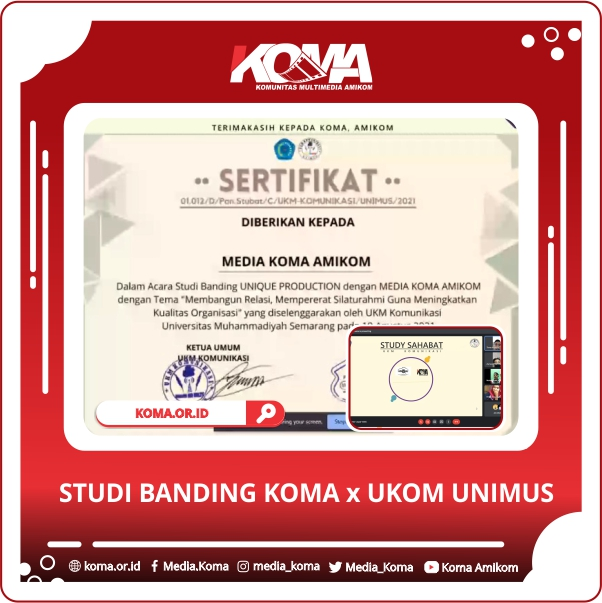 Studi Banding KOMA x UKOM UNIMUS