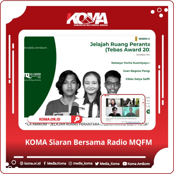 KOMA Siaran Bersama Radio MQFM